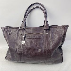 Marc by Marc Jacobs leather large leather tote